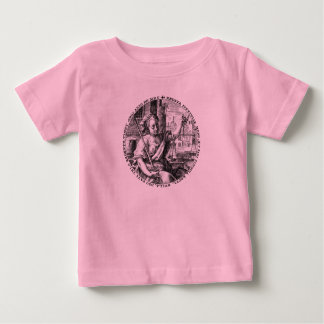 Lady Justice and Scales of Fairness Baby T-Shirt
