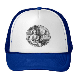 Lady Justice and Scales of Fairness Trucker Hat