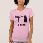 Lady Kickboxer / i kick T-shirt