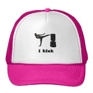Lady Kickboxer / i kick Trucker Hat