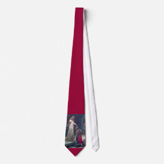 Lady knighted man knight tie