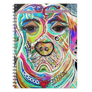Lady Lab Spiral Notebook