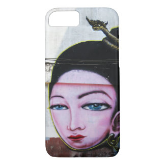 Lady Lao Graffiti Street Art iPhone 7 Case