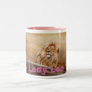 Lady Leo Lion Mug