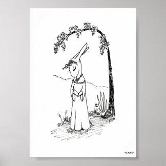 Lady Lepus limited edition print