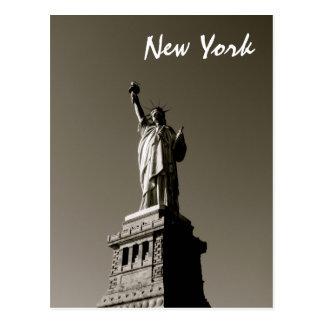Lady Liberty (B&W) Postcard