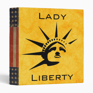 Lady Liberty Binder