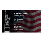 lady liberty Double-Sided standard business cards (Pack of 100)