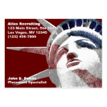 Lady Liberty Business Card Template