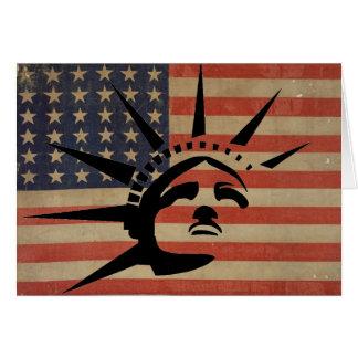 Lady Liberty Card
