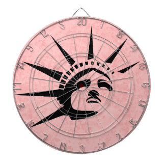 Lady Liberty Dartboard