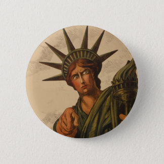 Lady Liberty Is Pointing at You 2 Inch Round Button