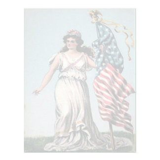 Lady Liberty Letterhead