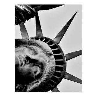 Lady Liberty NYC Postcard