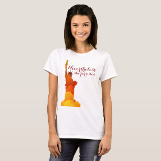 Lady Liberty Persisted Shirt