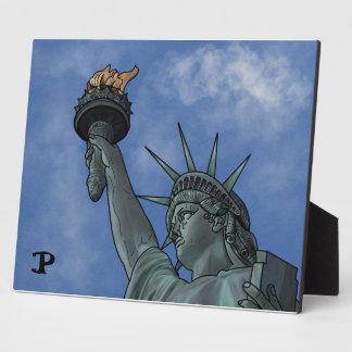 Lady Liberty Plaque