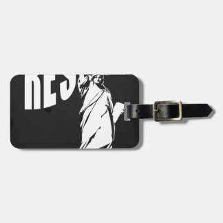 lady-liberty-resist- luggage tag