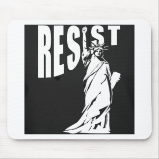 lady-liberty-resist- mouse pad