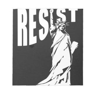 lady-liberty-resist- notepad