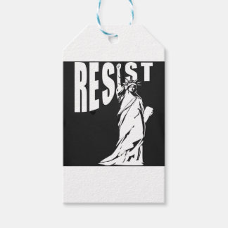 lady-liberty-resist- pack of gift tags