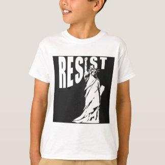 lady-liberty-resist- T-Shirt