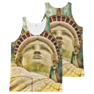 Lady Liberty, Statue of Liberty All-Over-Print Tank Top