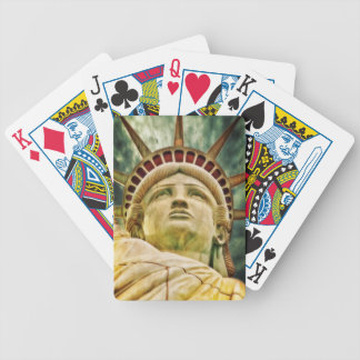 Lady Liberty, Statue of Liberty Bicycle Playing Cards