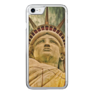 Lady Liberty, Statue of Liberty Carved iPhone 8/7 Case