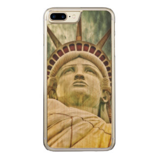 Lady Liberty, Statue of Liberty Carved iPhone 8 Plus/7 Plus Case