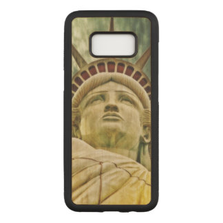 Lady Liberty, Statue of Liberty Carved Samsung Galaxy S8 Case