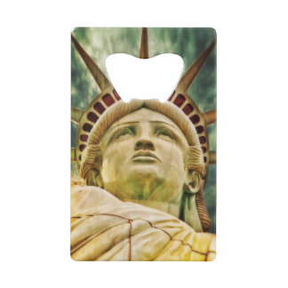 Lady Liberty, Statue of Liberty Credit Card Bottle Opener