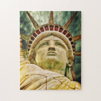 Lady Liberty, Statue of Liberty Jigsaw Puzzle