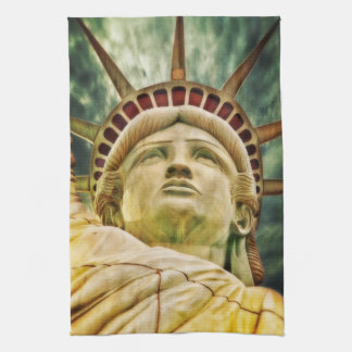 Lady Liberty, Statue of Liberty Kitchen Towel