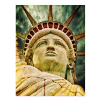Lady Liberty, Statue of Liberty Postcard