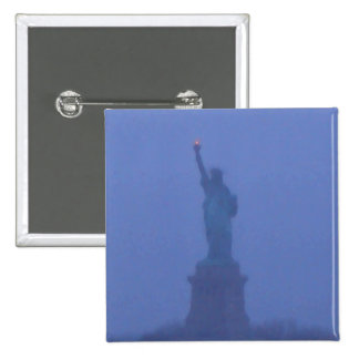 Lady Liberty Statue of Liberty USA America July 4 Pinback Buttons