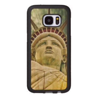 Lady Liberty, Statue of Liberty Wood Samsung Galaxy S7 Case