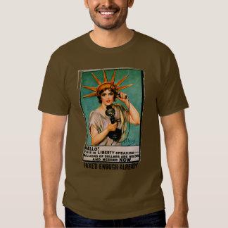 Lady Liberty We Need Millions NOW Tshirt