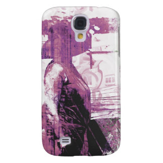 Lady Love purple Galaxy S4 Covers