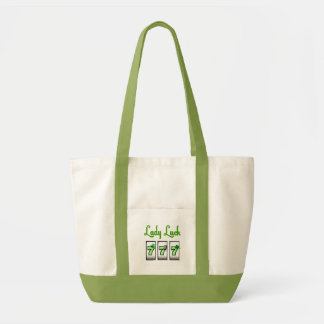 Lady Luck 777 Accent Bag, use on St. Patrick's Day