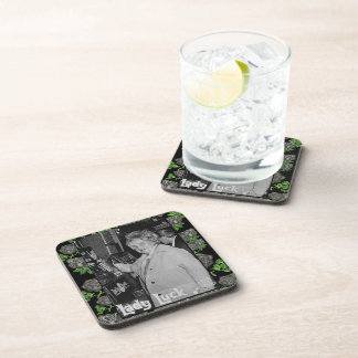 Lady Luck Beverage Coasters