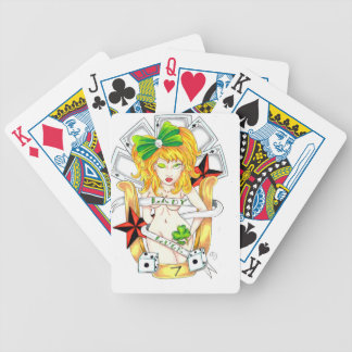 lady luck bicycle playing cards