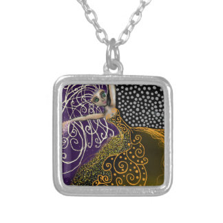 Lady Luck Silver Plated Necklace