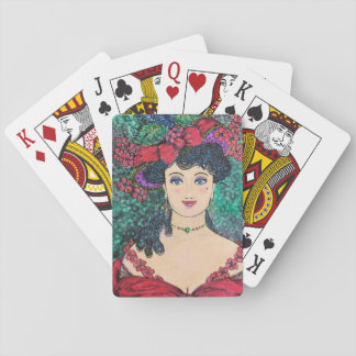 """Lady Madeline"" Playing Cards"