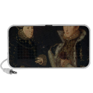 Lady Mary Nevill and her son Gregory Fiennes Speakers