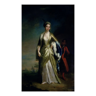 Lady Mary Wortley Montagu, c.1725 Poster