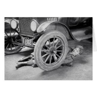 Lady Mechanic 1920 Cards
