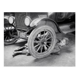 Lady Mechanic 1920 Postcards