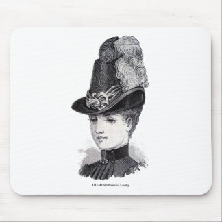 """Lady"" Mouse Pad"