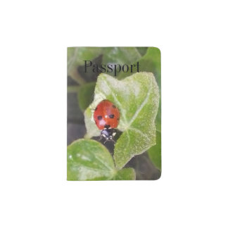 Lady nose ladybird Custom passport covering Passport Holder