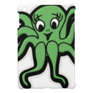 lady octopus lashes iPad mini covers